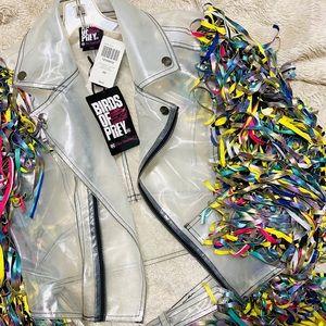 Hot Topic Jackets Coats Nwt Harley Quinn Birds Of Prey Jacket Poshmark